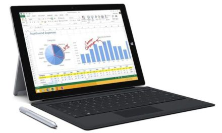 This refurbished Surface Pro 3 includes a keyboard and pen for $420