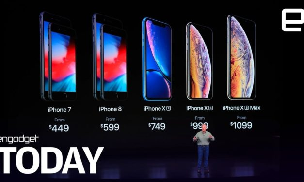 Apple day: iPhone Xs, Xs Max, Xr and Watch | Engadget Today